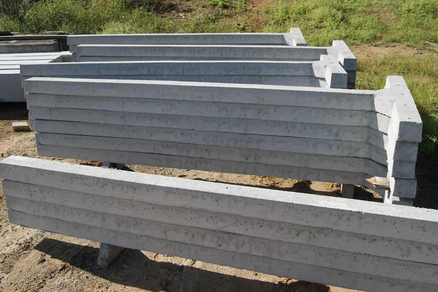 Poste para varal de concreto Postes de concreto para perca