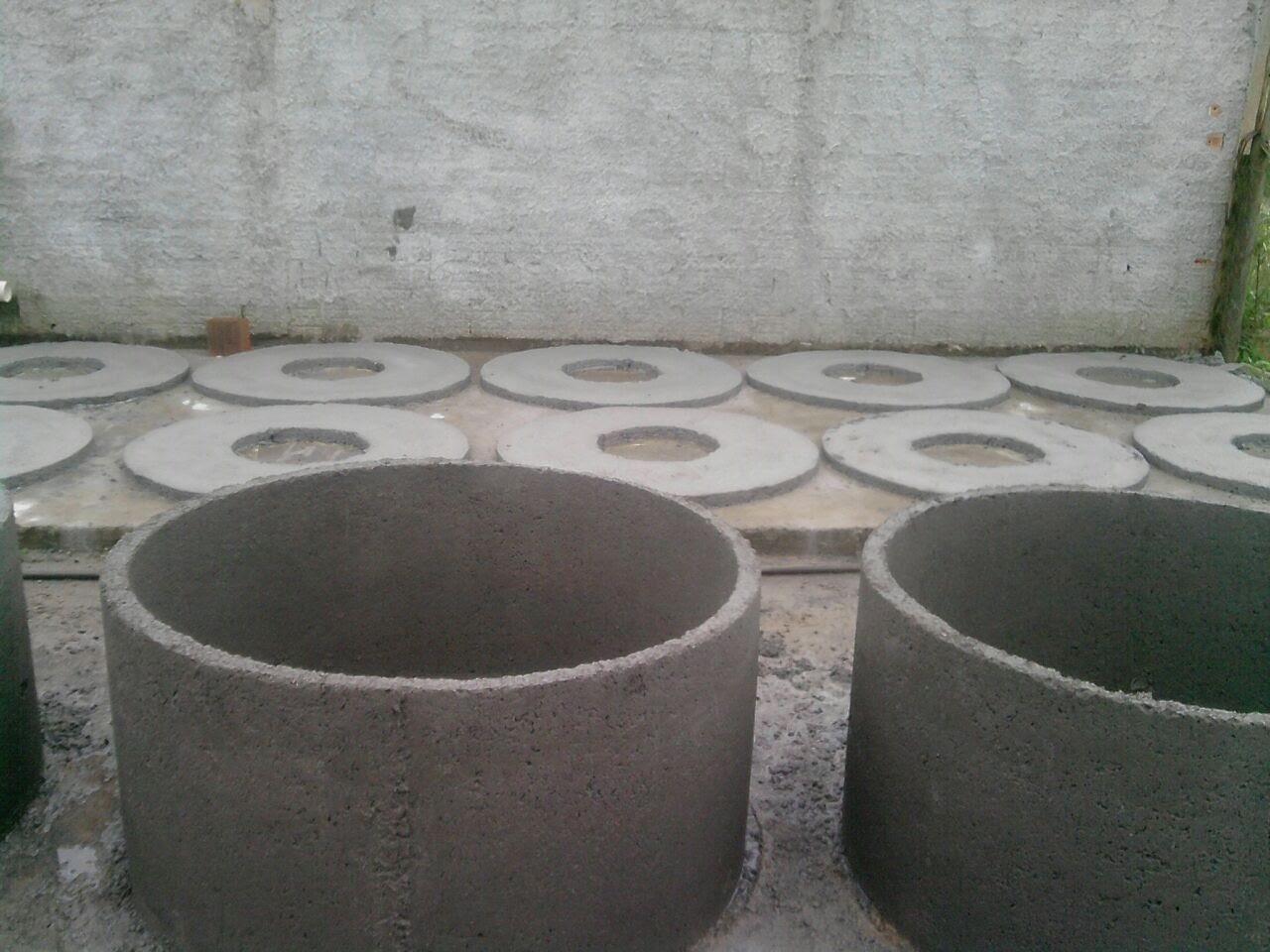 Fossas de concreto