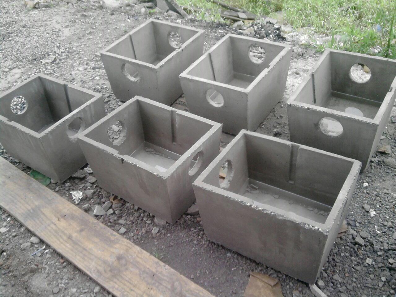 Caixa, Caixas de passagem de água