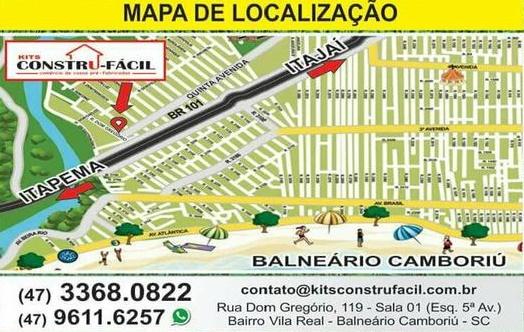 Casas Pré Fabricadas SC.  Balneario Camboriu SC  Santa Catarina SC
