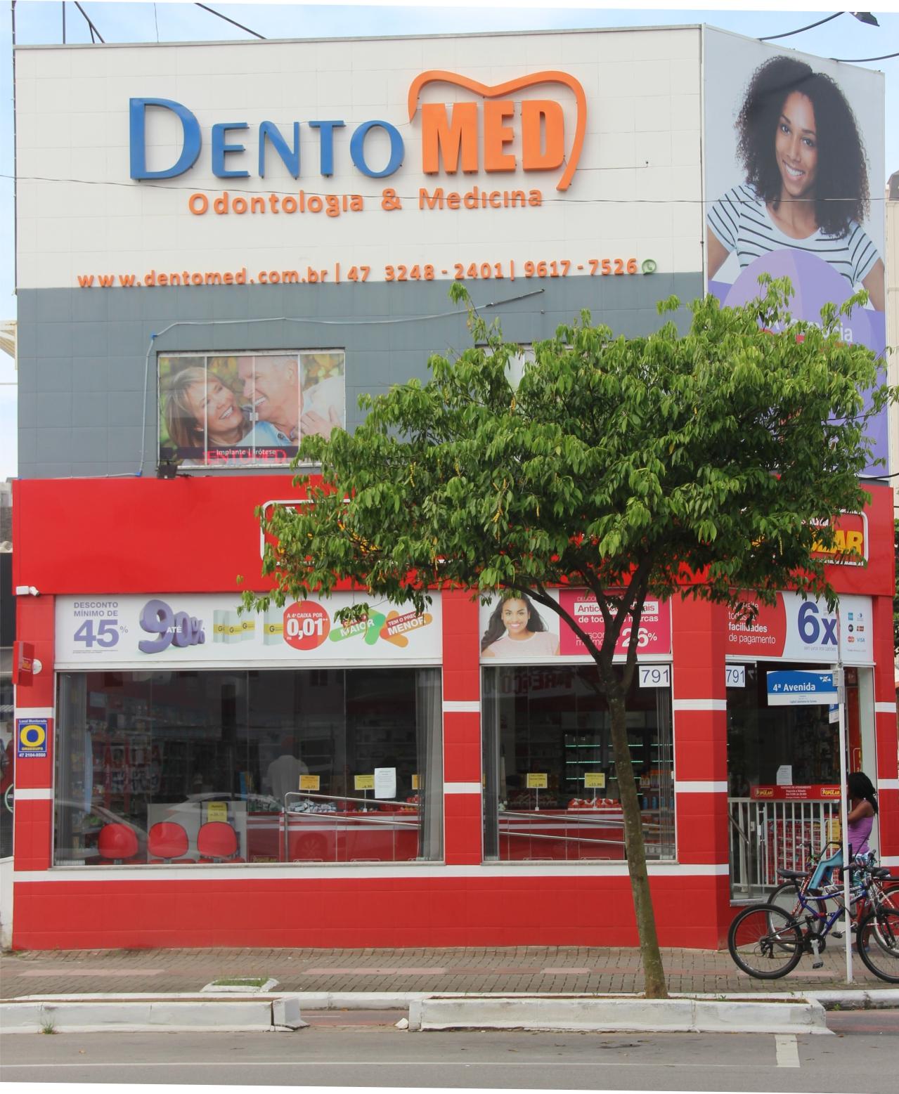 DentoMED - Odontologia & Medicina - (47) 3248-2401 - Clinica de Ortodontia -  Implantes - Próteses -  Estética - Psiquiatria & Psicologia - Dependência Química - Balneário Camboriú-SC
