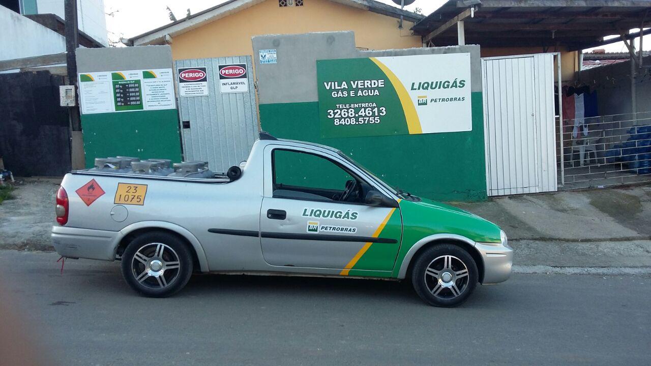 Gas e Agua, Liquigas, Vila Verde, Monte Alegre, Camboriu, bc, sc.