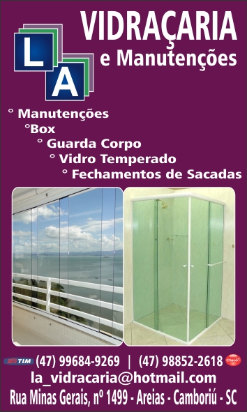 Instalação - Divisórias - Janelas de Aluminio Vidro  Sistema 100% L.A Camboriu, Balneario camboriu-SC.