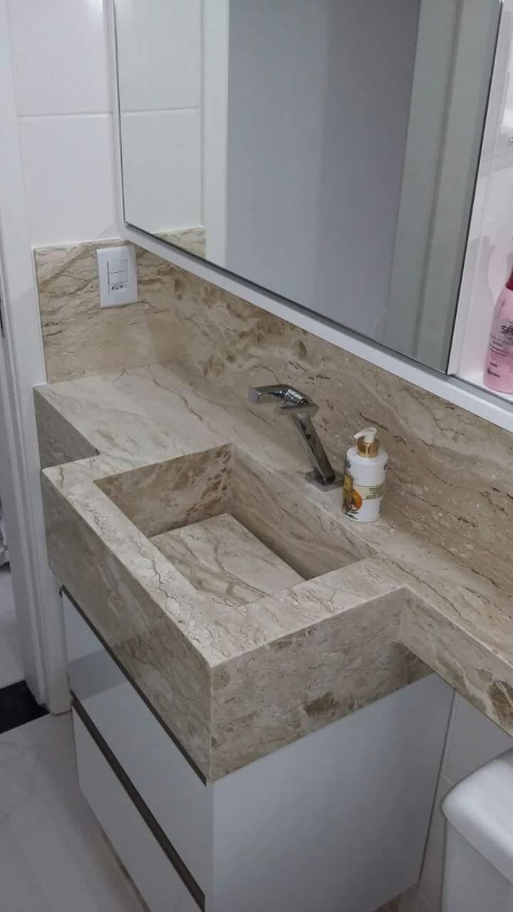 Marmoraria Oliveira - Mármores e Granitos - Mármores e Granitos - Pia - Lavabos - Pingadeira - Jazidas - Túmulos - Pedras esculpidas - Camboriú-SC